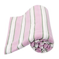 New L'il Fraser Baby Swaddle INDIANA 120cm X 120cm Stretch Wrap Lil Fraser