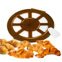 JEAN DAUDIGNAC MY CROISSANT MAKER 8 MOULD + RECIPE BOOK CREATIVE FILLINGS SAVE