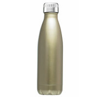 New Avanti Fluid Twin Wall Stainless Vacuum Drink Bottle 750ml - Champagne