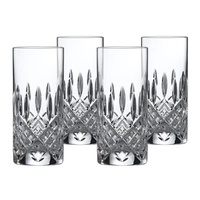 Marquis By Waterford Markham Crystalline Hi Ball Glasses 384ml | Set Of 4 Glasses