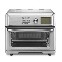 NEW CUISINART 17L EXPRESS LCD DIGITAL OVEN AIR FRYER STAINLESS 40CM