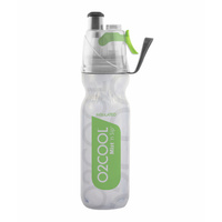 02Cool Mist 'N Sip 530ml 18oz Arctic Squeeze Drink Bottle BPA Free GREEN 02Cool O2 Cool