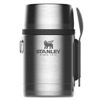 New STANLEY ADVENTURE 18oz 530ml All In One Insulated STAINLESS Food Jar