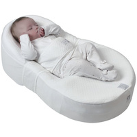 COCOONABABY NEWBORN BABY ERGONOMIC SLEEPING AID MATTRESS NEST RED CASTLE
