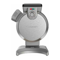 NEW CUISINART VERTICAL ELECTRIC WAFFLE MAKER 46944 FREE POSTAGE NON STICK