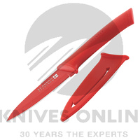 "New SCANPAN Spectrum RED UTILITY 4"" / 10cm Knife Colourful Knives"