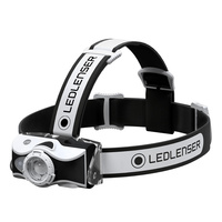 NEW LED LENSER MH7 HEAD TORCH 600 LUMENS HEADLAMP BLACK AUTH AUS SELLER