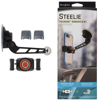 NEW NITE IZE STEELIE WINDSHIELD FREEMOUNT PHONE MOUNT MAGNETIC KIT