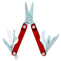 NEW LEATHERMAN MICRA RED 10IN1 MULTI-TOOL MULTITOOL SCISSORS KNIFE KEYCHAIN