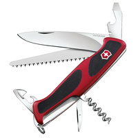 NEW SWISS ARMY KNIFE RANGERGRIP 55 VICTORINOX TOOL 38002 10 FUNCTIONS
