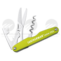 NEW LEATHERMAN JUICE CS3 MOSS GREEN POCKET SIZE MULTI-TOOL 832371