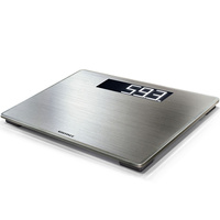 SOEHNLE STYLESENSE SAFE 300 GREY BATHROOM SCALE 180KG CAPACITY 63867