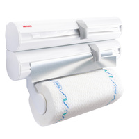 LEIFHEIT ROLLY MOBIL WHITE WALL MOUNTED ROLL 25795