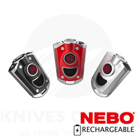 NEBO MYCRO 400 LUMEN 6 MODE LED FLASHLIGHT RECHARGEABLE KEYCHAIN 89528