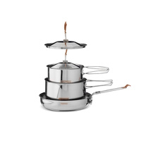 PRIMUS SMALL CAMPFIRE STAINLESS COOKSET WP738002