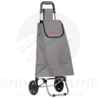 TYPHOON 25KG SHOPPING FOLDABLE TROLLEY W/ WHEELS GROCERY CART GREY