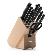 NEW 9842-8W WUSTHOF TRIDENT CLASSIC 10PC KNIFE BLOCK SET | GERMAN
