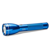 NEW MAGLITE 2C CELL BLUE LED FLASHLIGHT ML50L MADE IN USA