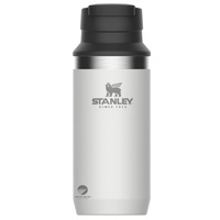 STANLEY ADVENTURE 350ml 12oz INSULATED SWITCHBACK TRAVEL MUG - WHITE