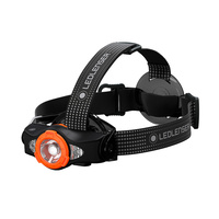 LED LENSER MH11 HEAD TORCH 1000 LUMENS RECHARGEABLE HEADLAMP BLACK ORANGE
