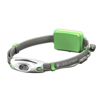 LED LENSER NEO6R RECHARGEABLE HEAD TORCH 240 LUMENS HEADLAMP GREEN