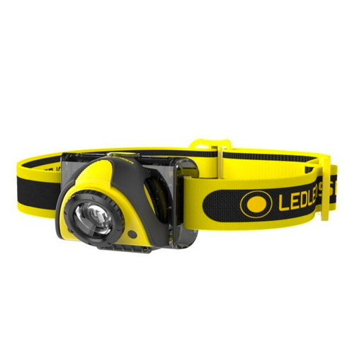 LED LENSER iSEO3 INDUSTRIAL FOCUSING HEAD TORCH HEADLAMP AUTHSELLER